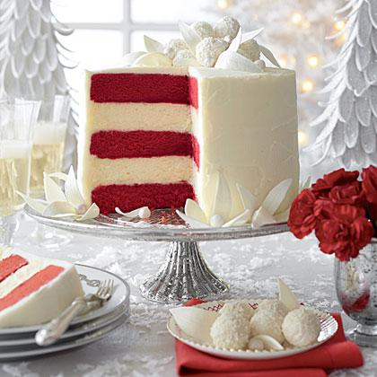 Cake of the Week: Red Velvet-White Chocolate Cheesecake