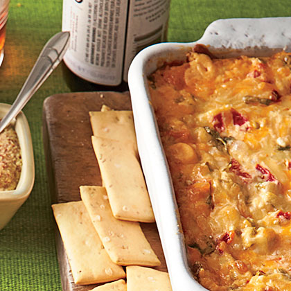 Baked Tex-Mex Red Pepper Cheese Dip Recipe