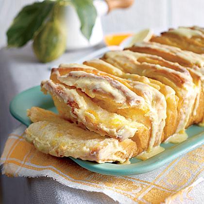 Citrus Pull-Apart Bread