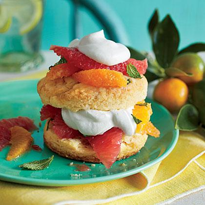 Citrus Shortcakes Recipe