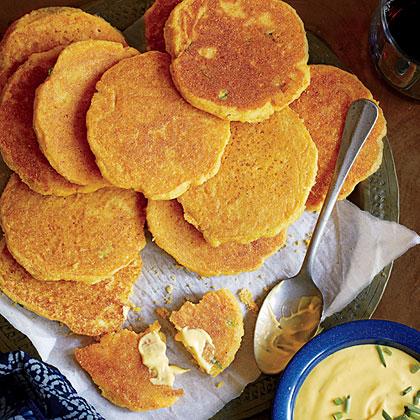 Griddle Corn Cakes Recipe