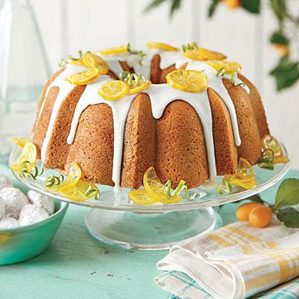 Lemon-Lime Pound Cake Recipe