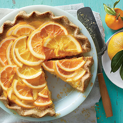 Shaker Orange Pie Recipe