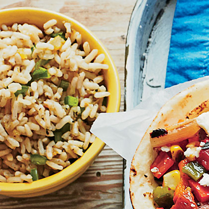 Spicy Green Rice