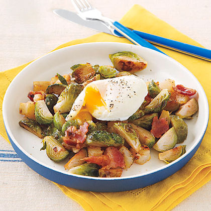 Brussels Sprout and Bacon HashRecipe