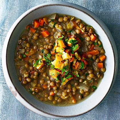 Lentil and Kumquat Soup