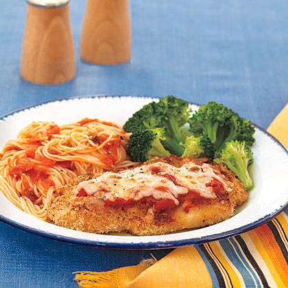Pork Cutlets Parmigiana