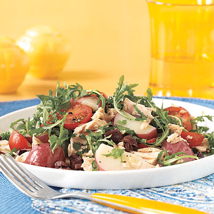 Warm Potato and Tuna Salad