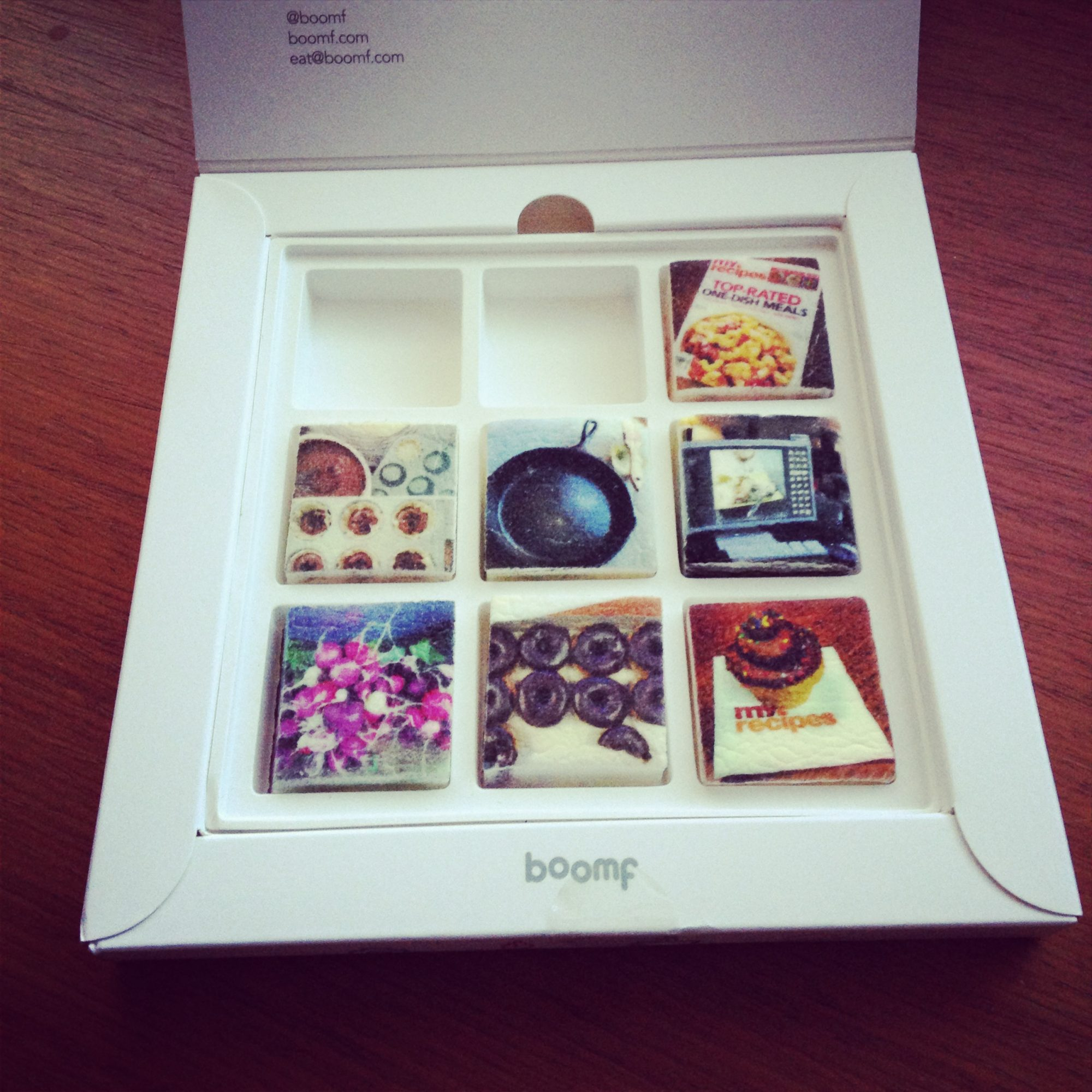 Boomf Makes Instagram Edible