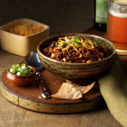 While chili snobs will argue over what true chili really is, you'll be enjoying this amazing recipe that brings together many well-loved (if hotly debated) chili ingredients. The Johnsonville Italian Sausage gives the dish an extra boost of flavor and heat that will make all chili fans want more.