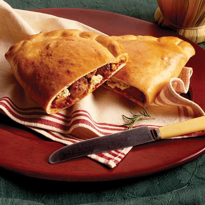 Party-Sized Sausage Calzones
