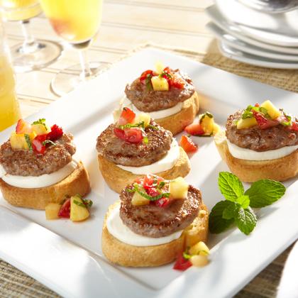 Sweet & Savory Bruschetta