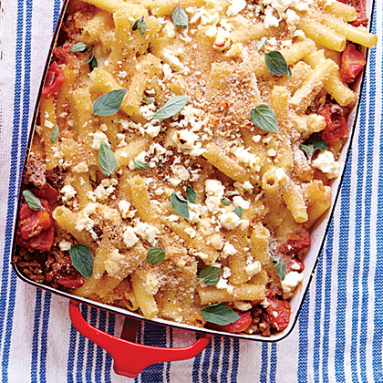 Greek Baked Ziti (Pastitsio)