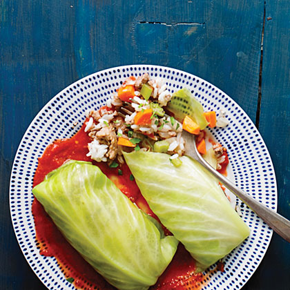 Polish Cabbage Rolls (Golumpki) Recipe