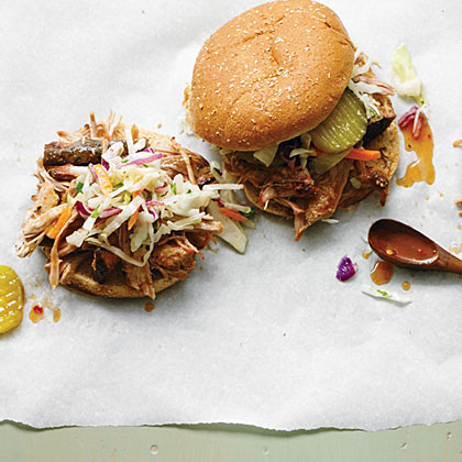 Pulled Pork Barbecue Sandwiches