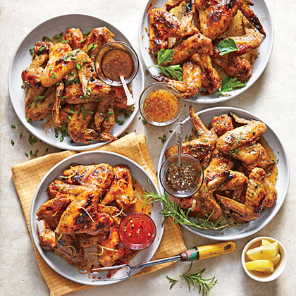 Grilled Salt-and-Pepper Chicken WingsRecipe