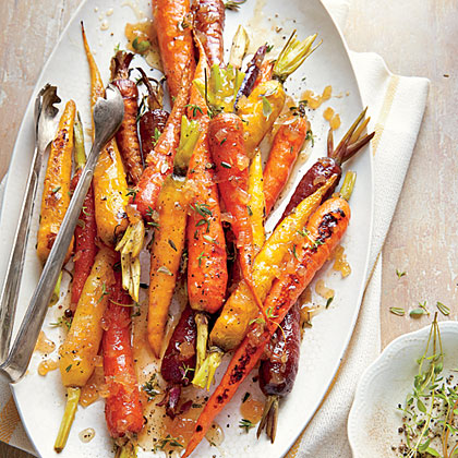 Honey-Roasted CarrotsRecipe