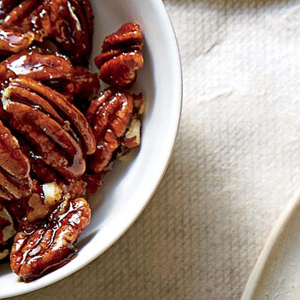 Honeyed Pecans Recipe