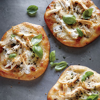 Individual White Chicken PizzasRecipe