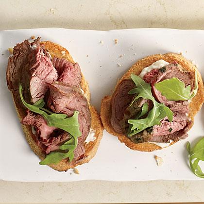 Mustard-Tarragon Beef Tenderloin