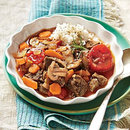Rosemary Lamb Stew Recipe