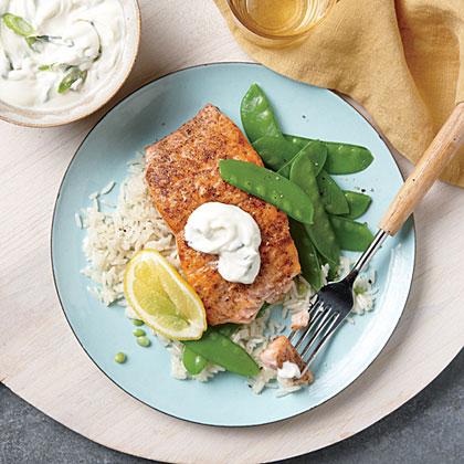 Spice-Roasted Salmon