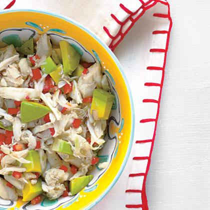 Crab-and-Avocado Salsa