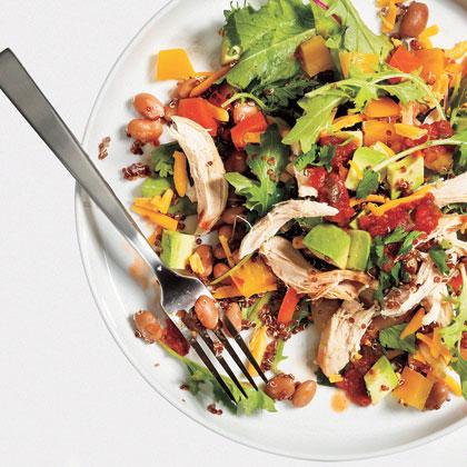 <p>Healthy Taco Salad</p>
