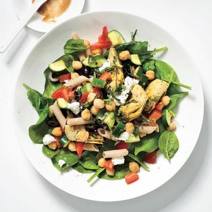 <p>Mediterranean Pasta Salad</p>