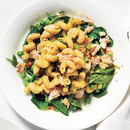 <p>Tuna and Vegetable Pasta Salad</p>