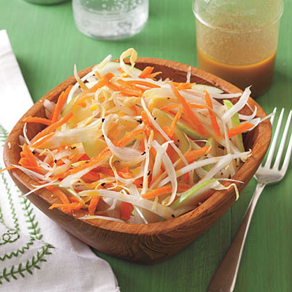 Apple and Endive Salad with Peanut Dressing