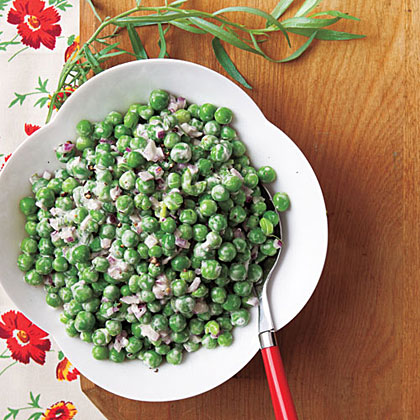 Lemon-Tarragon Pea Salad