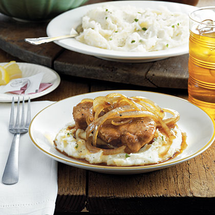 Country Smothered Pork Chops Recipe
