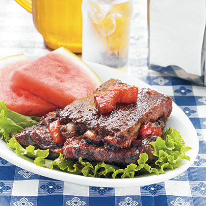George Harvell's Watermelon Ribs