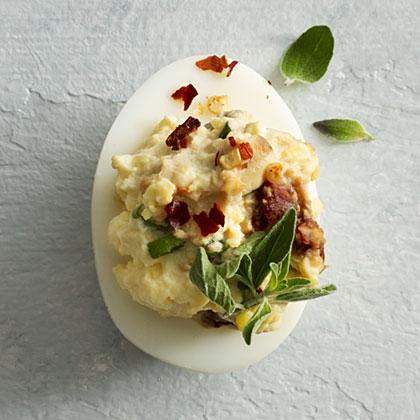 Mediterranean Deviled Eggs Recipe