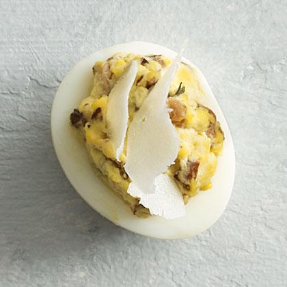 Mushroom Deviled EggsRecipe