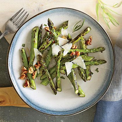 Pan-Charred Asparagus Recipe