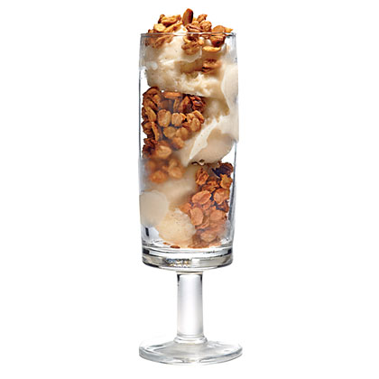 Peanut Butter Granola Crunch Parfaits Recipe