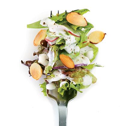 Radish Salad with Buttermilk-Herb Dressing