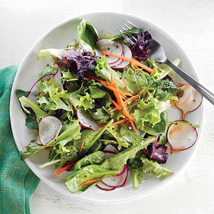 Radish Salad with Orange Vinaigrette Recipe