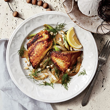 Vietnamese Tilapia with Turmeric and Dill Recipe
