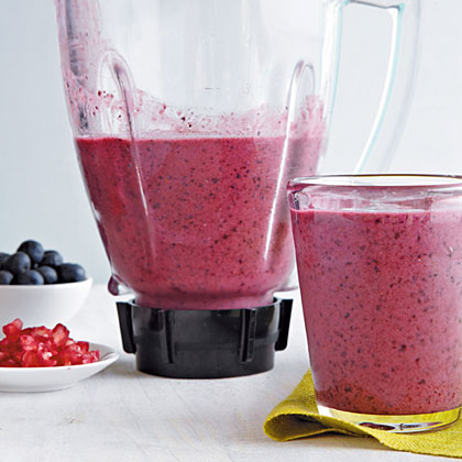 Blueberry-Pomegranate Smoothie