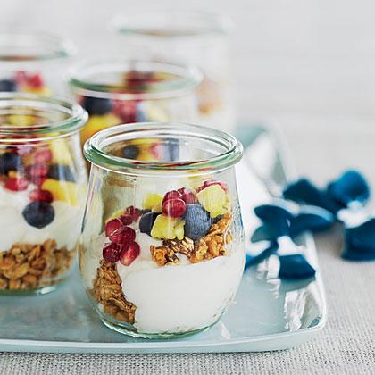 Mini Fruit-and-Yogurt Parfaits