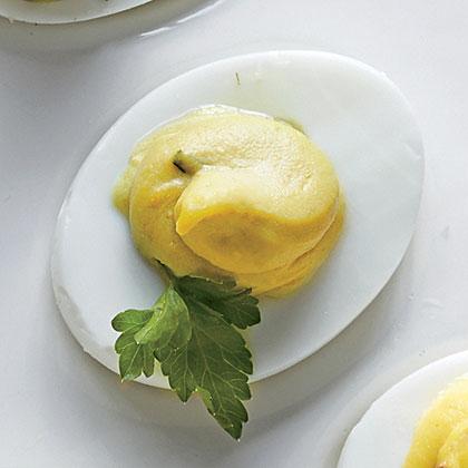 Avocado-Tarragon Eggs Recipe