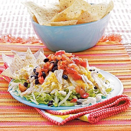 Chicken Enchilada Dip