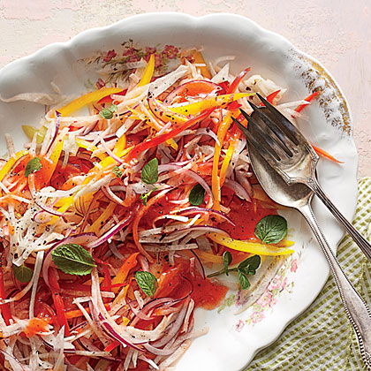 Jicama-and-Bell Pepper Slaw Recipe