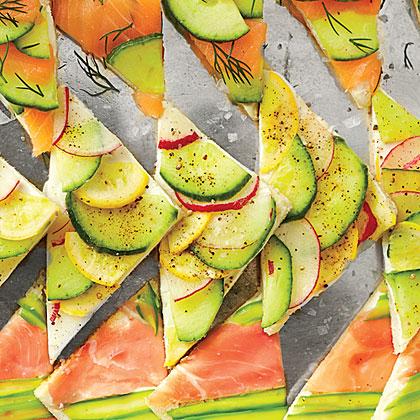 Vegetable Medley Tea Sandwiches Recipe