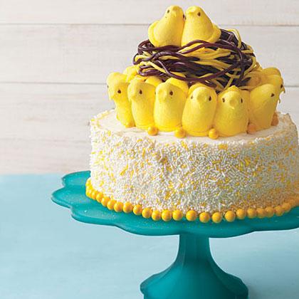 Bird's Nest Cake