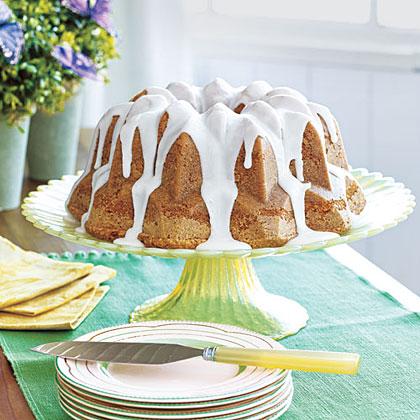 Lemon Ginger Pound Cake Recipe