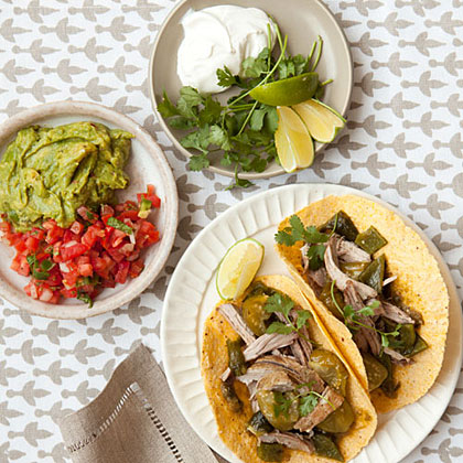 Slow-Cooker Green Chile Pork Recipe